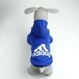 Zopet Adidog modrá mikina pro psa 20 cm