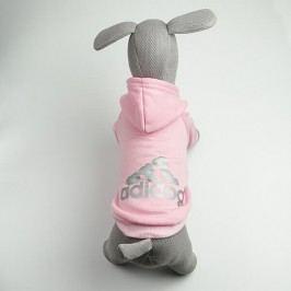 Zopet Adidog růžová mikina pro psa 20 cm