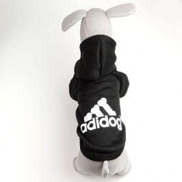 Zopet Adidog černá mikina pro psa 20 cm