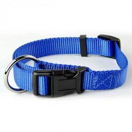 Zopet Modrý nylonový stahovací obojek pro psa 33 - 54 cm