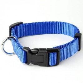 Zopet Modrý nylonový obojek pro psa 22 - 34 cm