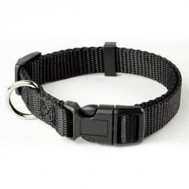 Zopet Černý nylonový obojek pro psa 22 - 34 cm