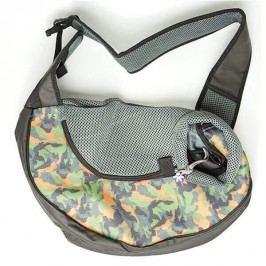 Zopet Maskáčová taška pro psa přes rameno 43 x 26 cm