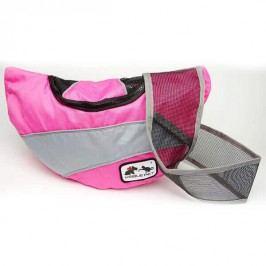 Zopet Růžová taška pro psa přes rameno Noble Pet 38 x 22 x 10 cm