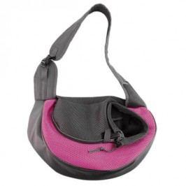 Zopet Růžová taška pro psa přes rameno 38 x 22 cm