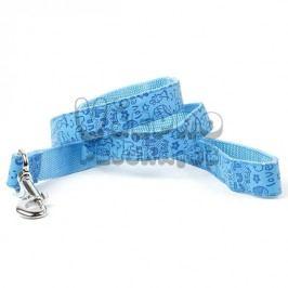 Zopet Modré vodítko pro psa s potiskem 120 cm