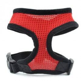 Zopet Červené síťkované kšíry pro psa 30 - 43 cm