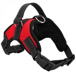Zopet Červeny sportovní postroj pro psa 63 - 70 cm