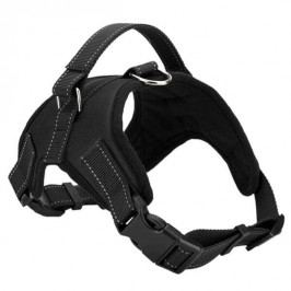 Zopet Černý sportovní postroj pro psa 52 - 60 cm