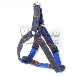 Zopet Modro-riflový postroj pro psa 28 - 42 cm