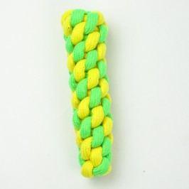 Zopet Zeleno-žlutý pešek pro psa | 19 cm