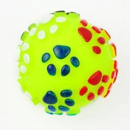 Zopet Žlutý pískací míček pro psa | 7 cm