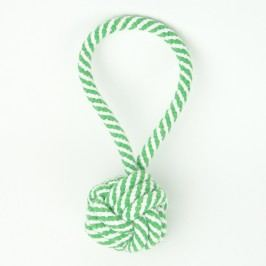 Zopet Zelená smyčka se zapletenou koulí | 19 cm