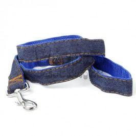 Zopet Modro-riflové vodítko pro psa 120 cm