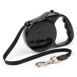 Zopet Černé samonavíjecí vodítko pro psa 5m|16kg