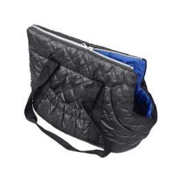 Zopet Černo-modrá taška pro psa 34 x 22 cm