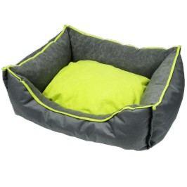 Zopet Šedo-Zelený pelíšek pro psa 49 x 39 cm