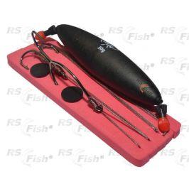 Mikado® Catfish Rig With Submerged Float - Hook & Treble Hook 2/0 - HIC090-30 g