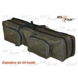 RS Fish® Pouzdro na pruty - 2 komory 110 cm
