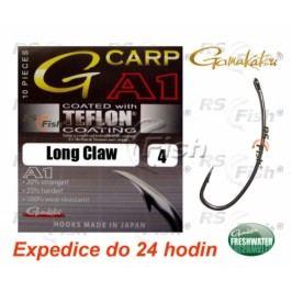 Gamakatsu® G-Carp A1 - Long Claw P.T.F.E. 4