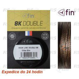 Delphin® Hook Line Double 8K 25 lbs - 11,40 kg