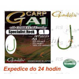 Gamakatsu® G-Carp A1 Specialist Hook Camo Green 1
