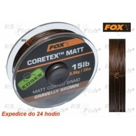 FOX® Coretex Matt - Gravelly Brown 6,80 kg / 15 lb - CAC433