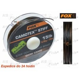 FOX® Camotex Stiff - Dark Camo 6,80 kg / 15 lb - CAC443