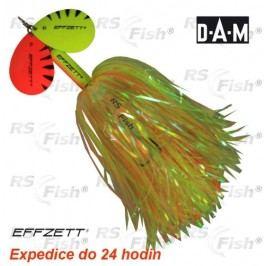 DAM® Effzett Pike Rattlin´ Spinner - barva yellow / orange 40,0 g - 52723