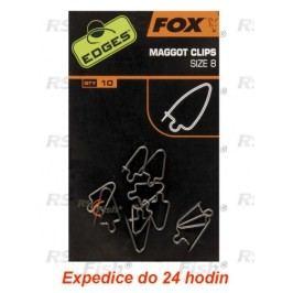 FOX® Maggot Clips - velikost 8 - CAC525