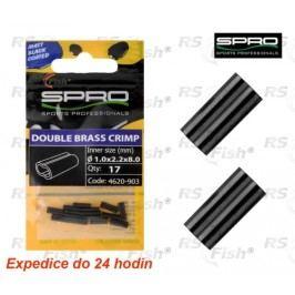 SPRO® W-Brass Crimp 0,8 x 1,7 x 8 mm - 4620902