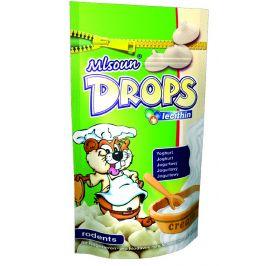 Mlsoun Drops pro hlodavce jogurtový 75g