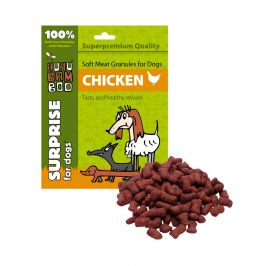 Huhubamboo Daily Soft Dog - Měkké granule - kuřecí 300g