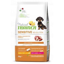 Trainer Natural Sensitive No Gluten Puppy&Jun Mini kachna 2kg