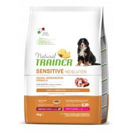 Trainer Natural Sensitive No gluten Puppy&Jun M/M kachna 3kg