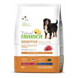 Trainer Natural Sensitive No gluten Adult M/M jehněčí 3kg