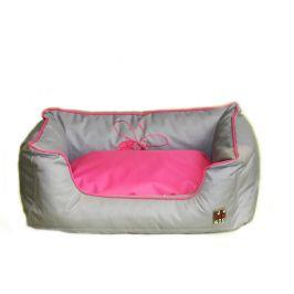 Huhubamboo pelech šedá+růžová L