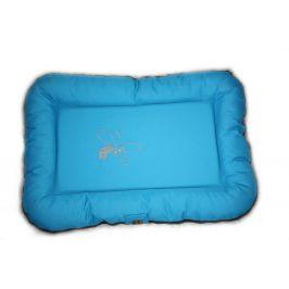 Huhubamboo polštář modrá+šedá M 75cm
