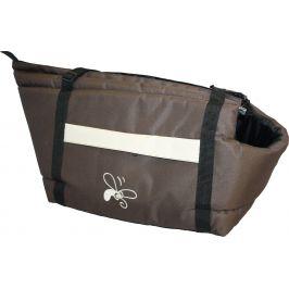 Huhubamboo taška hnědá+béžová S