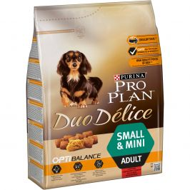 Purina Pro Plan Duo Delice Adult Small&Mini Beef 2,5kg