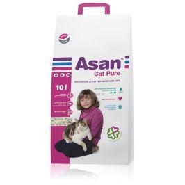 Asan Cat Pure eko-stelivo pro kočky a fretky 10l (2,5kg)