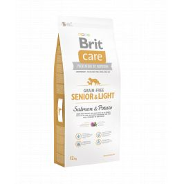 Brit Care Grain Free Senior Light Salmon & Potato 12kg