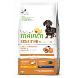 Trainer Natural Sensitive No gluten Adult Mini losos 7kg