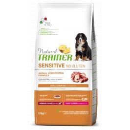 Trainer Natural Sensitive No gluten Puppy&Jun M/M kachna 12kg