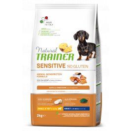 Trainer Natural Sensitive No gluten Adult MINI losos 2kg