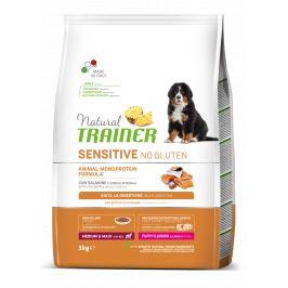 Trainer Natural Sensitive No gluten Adult M/M losos 3kg