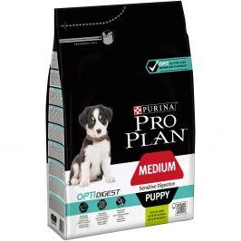 Purina Pro Plan Dog OptiDigest Medium Puppy Sensitive Digestion jehně 3kg