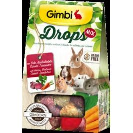 Gimborn I DROPS pro hlodavce s cervenou repou 50g