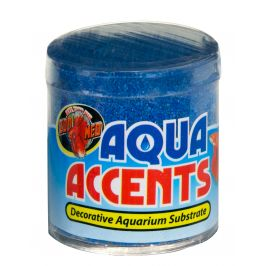 Zoomed Aqua Accents kamínky balistický modrý