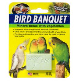 Zoomed Bird Banquet minerální blok se zeleninou S